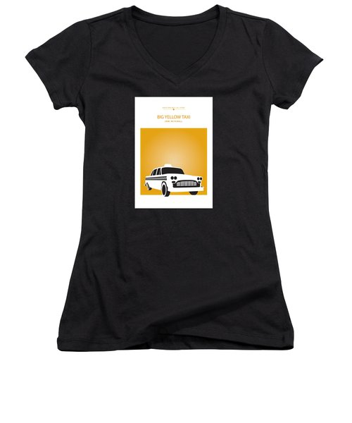 Big Yellow Taxi -- Joni Michel Women's V-Neck