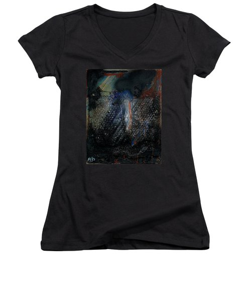 Biospheres Ipo - The World As Will And Representation - Arthur Schopenhauer - Ecological Footprint  Women's V-Neck (Athletic Fit)