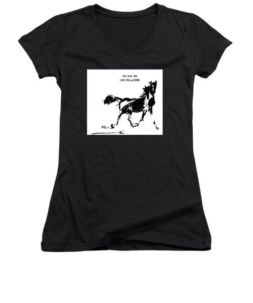 Birthday Image Women's V-Neck T-Shirt