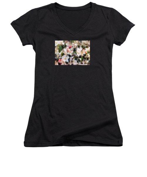 Blossom Women's V-Neck (Athletic Fit)