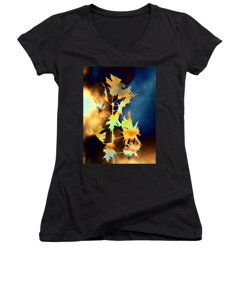 Blowin In The Wind II Women's V-Neck (Athletic Fit)
