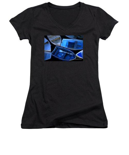 Blue Boats Women's V-Neck