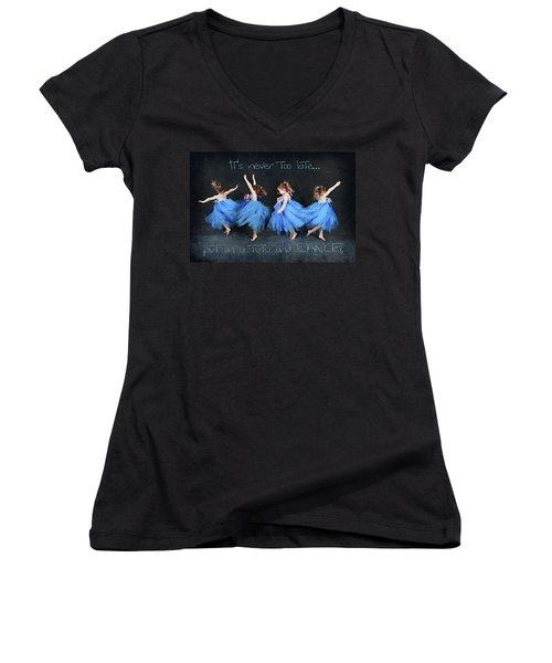 Blue Fairy Women's V-Neck
