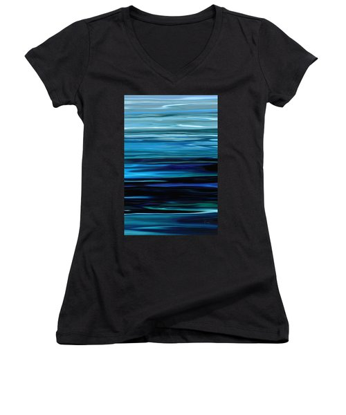 Blue Horrizon Women's V-Neck T-Shirt