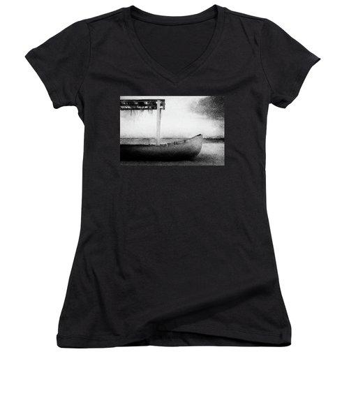 Boat Women's V-Neck T-Shirt