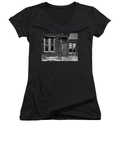 Bodie Women's V-Neck T-Shirt (Junior Cut) by Art Shimamura