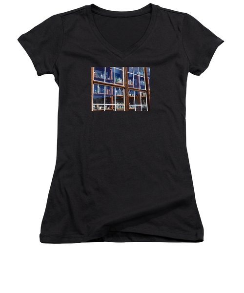 Bodie Bottles #2 Women's V-Neck (Athletic Fit)