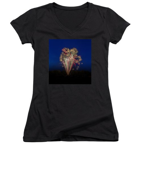 Bombs Bursting In Air II Women's V-Neck (Athletic Fit)
