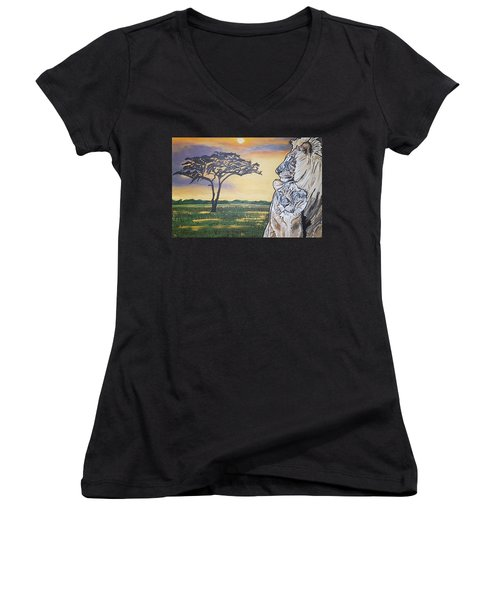 Bonnie And Clyde Women's V-Neck