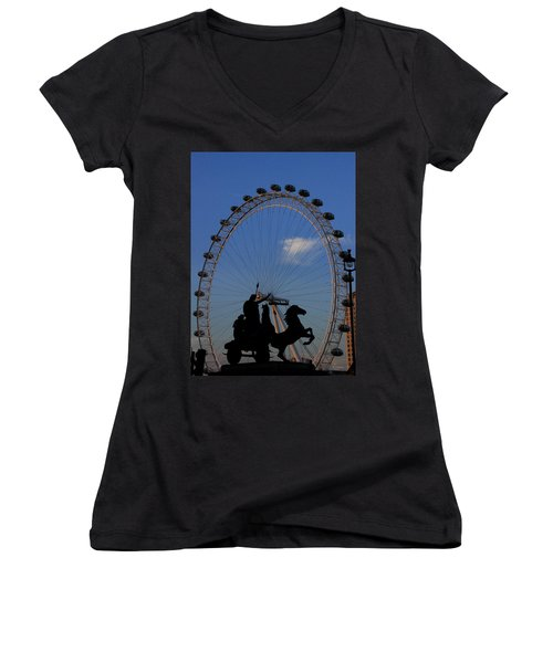 Boudicca's Eye Women's V-Neck