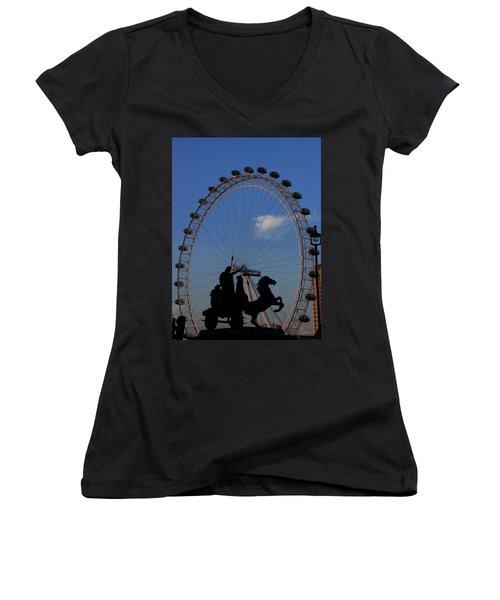 Boudicca's Eye Women's V-Neck T-Shirt