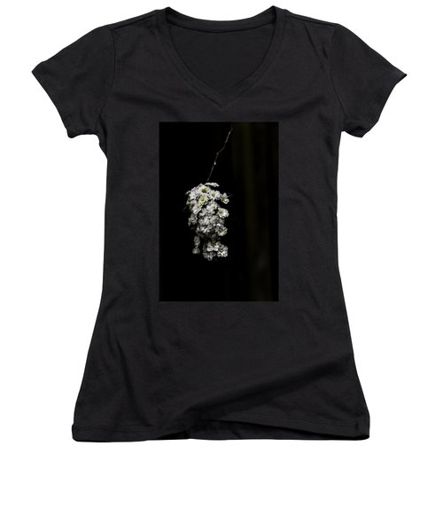 Bouquet Of White Women's V-Neck