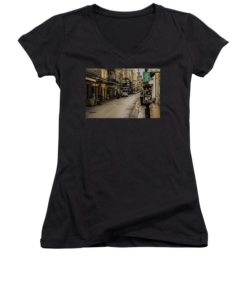 Bourbon Street By Day Women's V-Neck