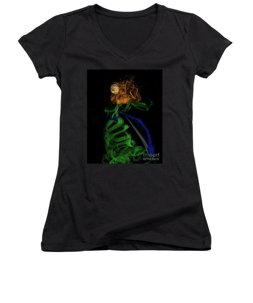 Brave Princess Women's V-Neck T-Shirt
