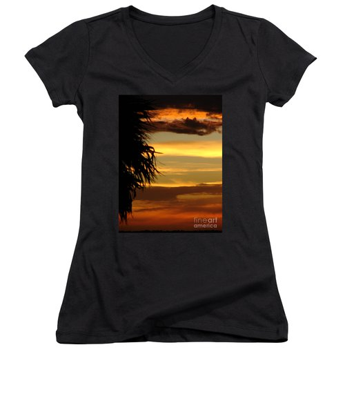 Breaking Dawn Women's V-Neck (Athletic Fit)