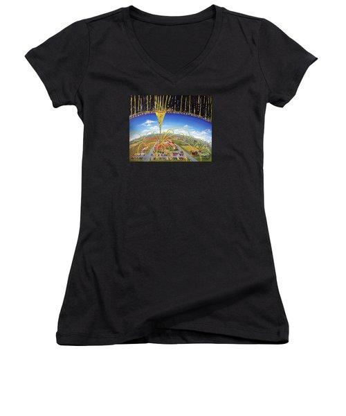 Breakthrough Women's V-Neck T-Shirt