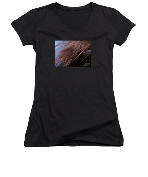 Breeze Women's V-Neck T-Shirt (Junior Cut) by Vanessa Palomino