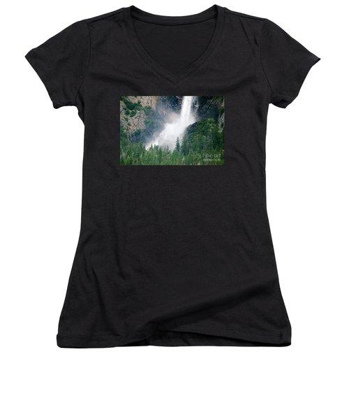 Bridal Veil Falls Women's V-Neck T-Shirt