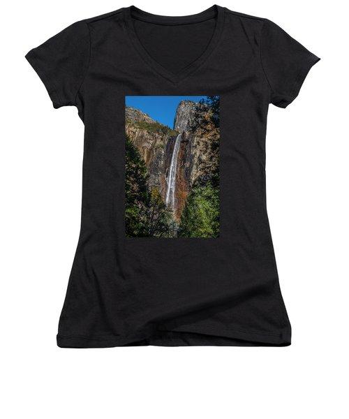 Bridal Veil Falls - My Original View Women's V-Neck