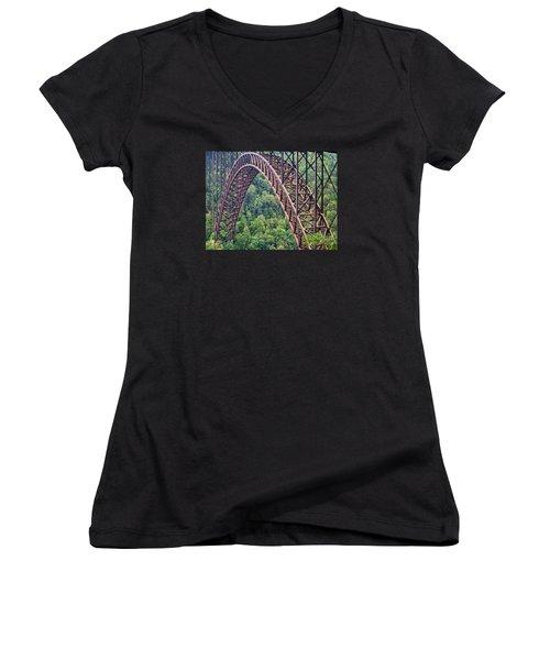 Bridge Of Trees Women's V-Neck