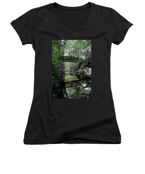 Bridge Reflections Women's V-Neck T-Shirt