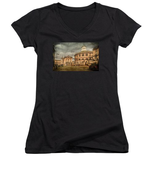 Oxford, England - Broad Street Women's V-Neck