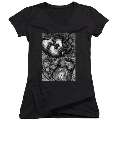 Broken Doll Women's V-Neck T-Shirt