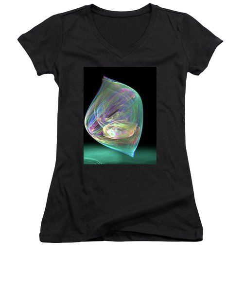 Bubbles Women's V-Neck