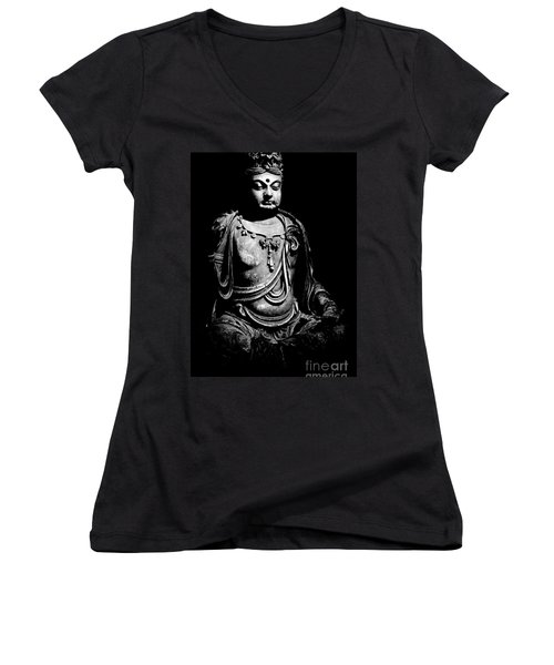 Buddha Women's V-Neck