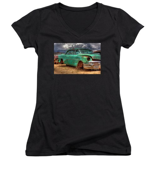 Buick Super Women's V-Neck