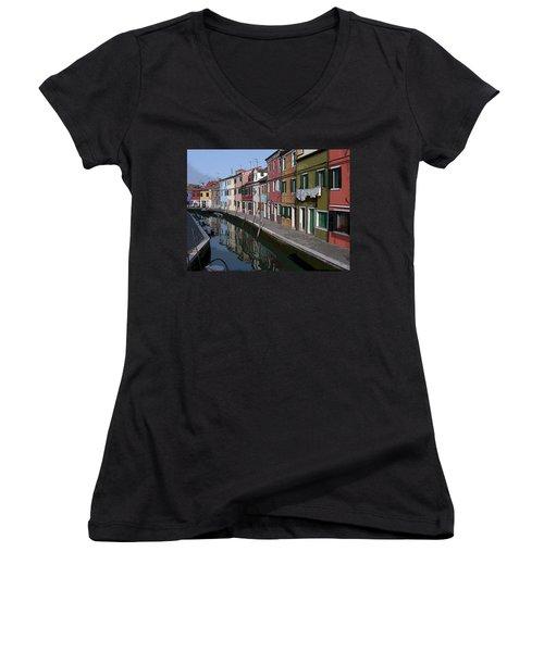Burano Women's V-Neck T-Shirt