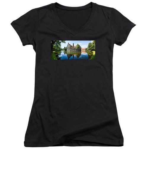 Burg Vischering Women's V-Neck T-Shirt