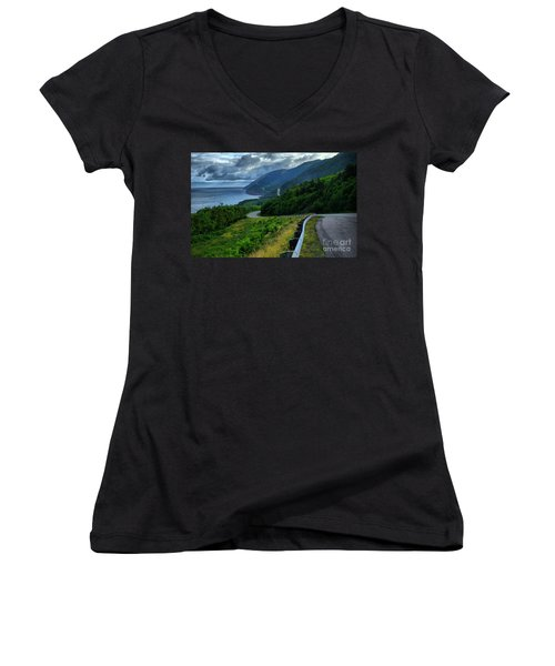 Cabot Trail Women's V-Neck (Athletic Fit)