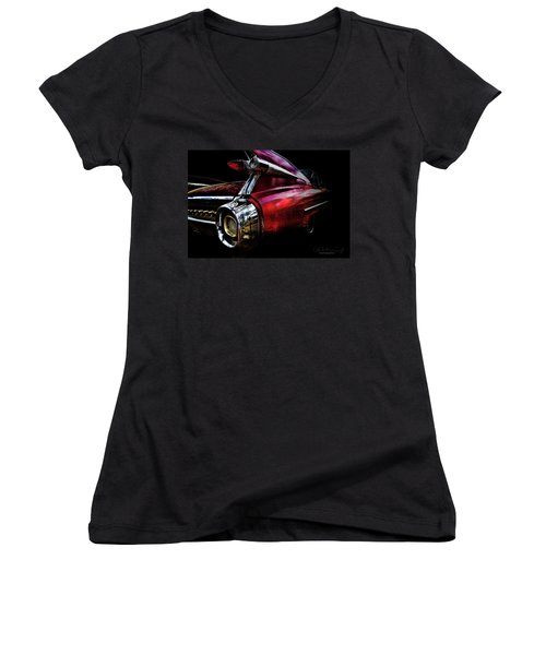 Cadillac Lines Women's V-Neck
