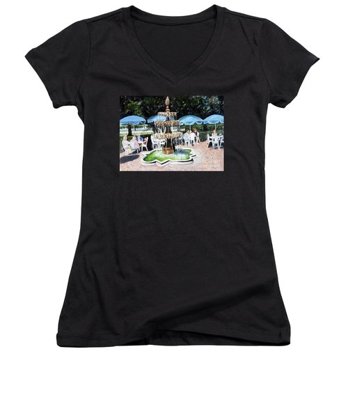 Cafe Gallery Women's V-Neck T-Shirt