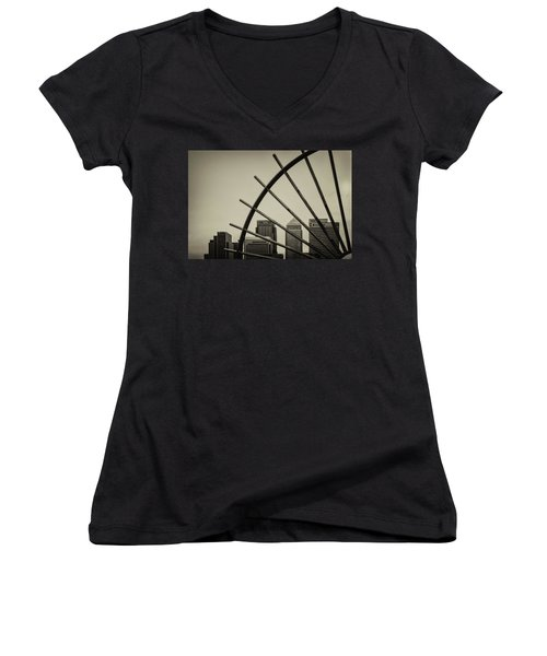 Caged Canary Women's V-Neck