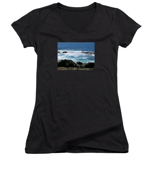 California Coast Women's V-Neck (Athletic Fit)