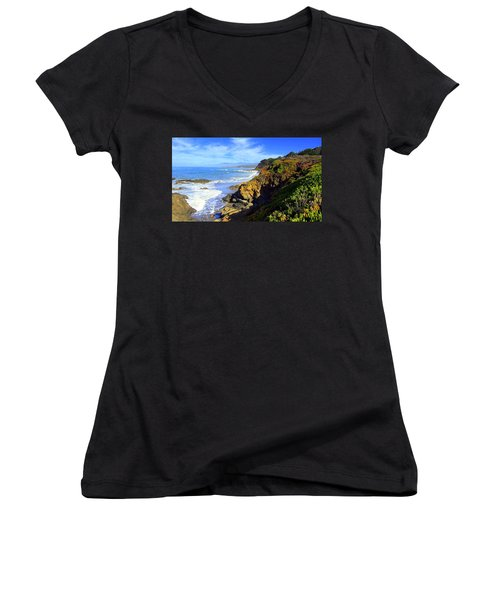 Cambria By The Sea Women's V-Neck