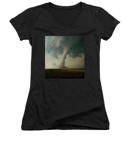 Campo Tornado Women's V-Neck T-Shirt