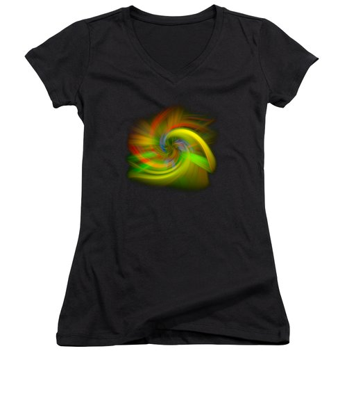 Candy Mountain Twirl Women's V-Neck