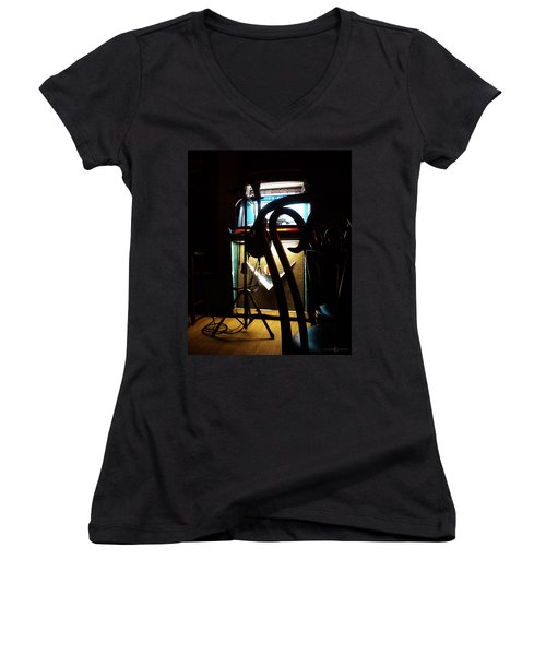 Canned Music Women's V-Neck