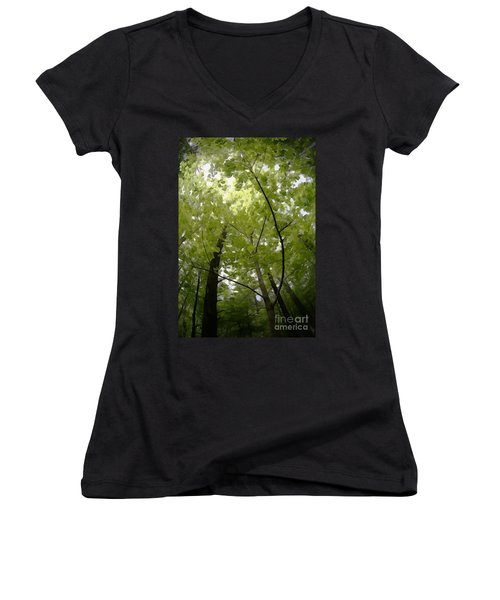 Canopy Women's V-Neck (Athletic Fit)