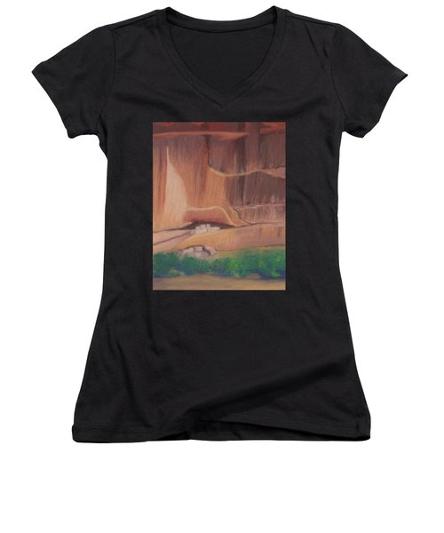 Canyon De Chelly Cliffdwellers #2 Women's V-Neck