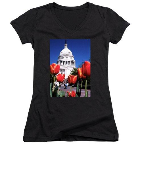 Capital Colors Women's V-Neck