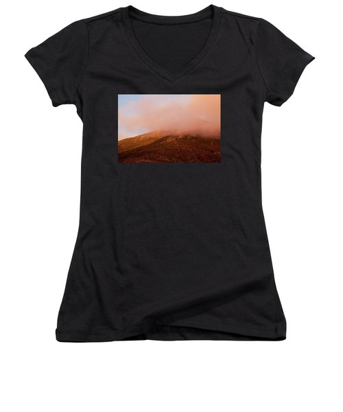 Caps Ridge Sunset Women's V-Neck (Athletic Fit)