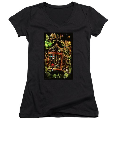 Captured Gypsy Women's V-Neck T-Shirt