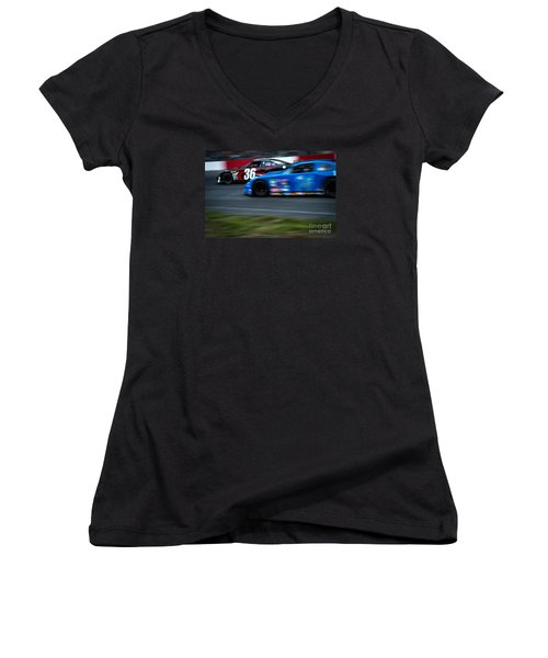 Car 36 In The Lead Women's V-Neck T-Shirt