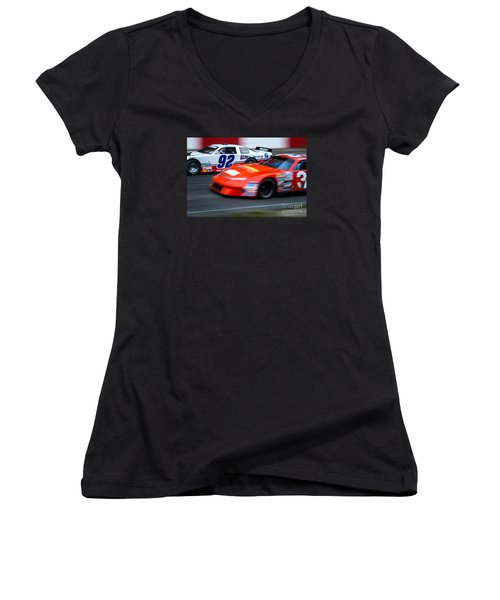 Car 92 Passes The Competition Women's V-Neck T-Shirt