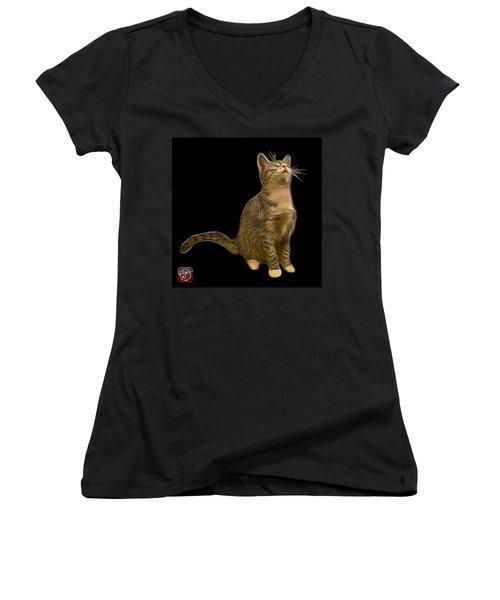 Cat Art - 3771 Bb Women's V-Neck T-Shirt