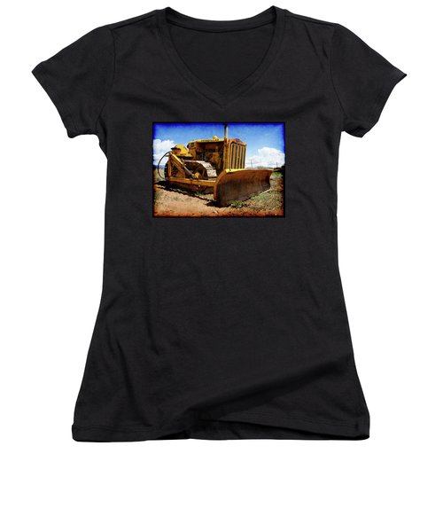 Caterpillar Twenty Two Women's V-Neck T-Shirt